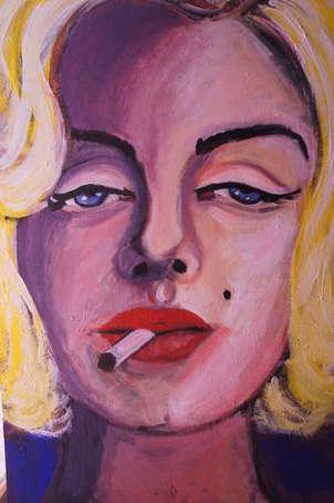fumando con marilyn