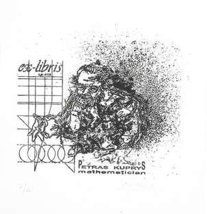 Exlibris petras kupriys