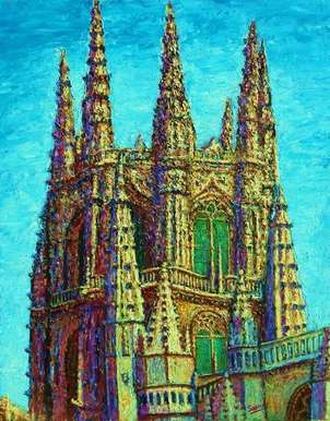 el crucero catedral de burgos