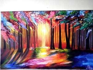 bosque de luz