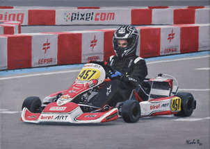 Piloto de karting