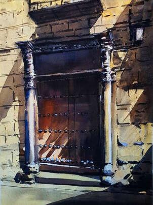 puerta en calle alfonsoXII toledo