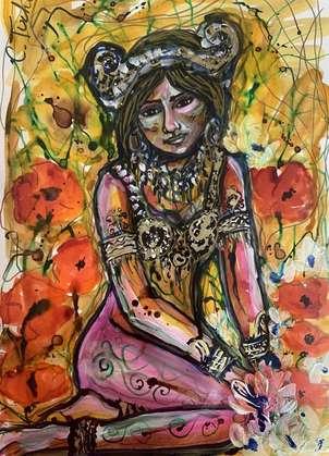 Mata Hari entre amapolas