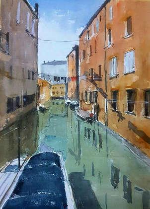 reflejos en venecia