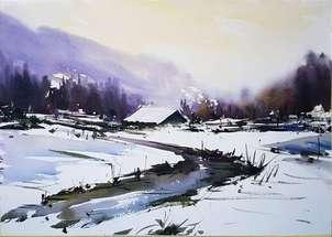 Soledad en la nieve