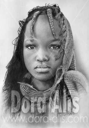 niña de áfrica 97