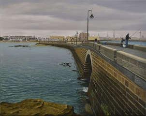 Cadiz desde puente canal