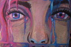 azul y rosa, los opuestos lloran  igual