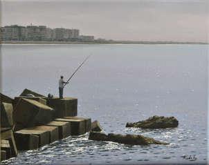 Pescando en los bloques