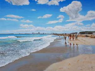 Paseando por la playa
