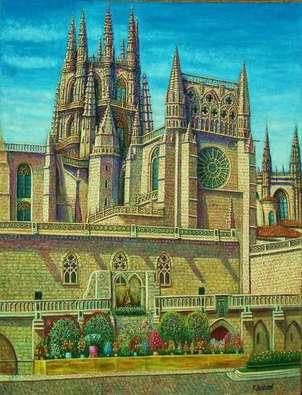 catedral de burgos ofrenda de frores