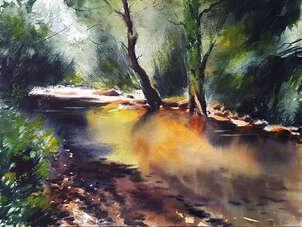 Colorido rio peñafrancia - gijon