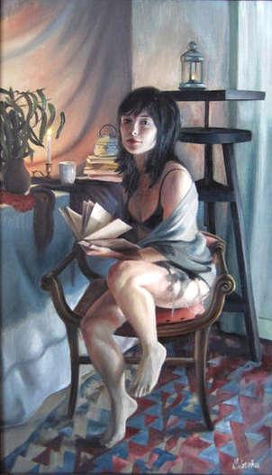 retrato de leyre