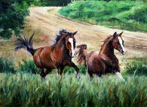 2 caballos