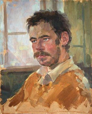 retrato del artista estudiante