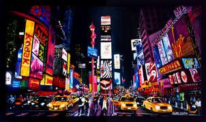 Show de luces en New York