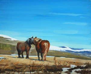 caballos pirenaicos