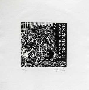 Exlibris ciurlionio- 125