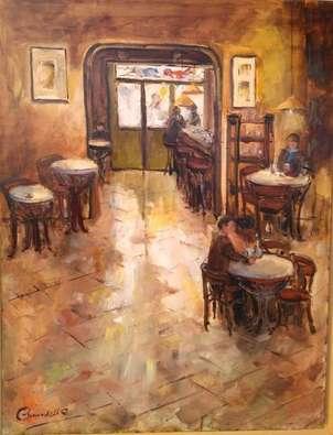 interior del cafe passeig del born