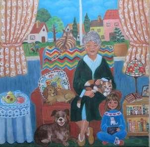 en casa de la abuela