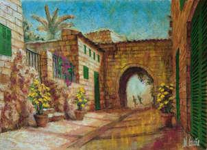 Ariany. Pueblo de Mallorca