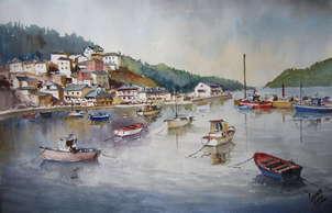 puerto el barquero-galicia
