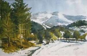 Nieve en la Sierra de Guadarrama