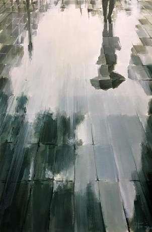suelo mojado