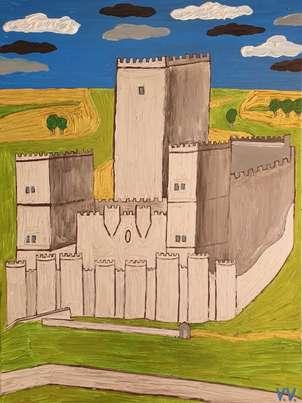 Castillo de Ampudia (Valladolid)