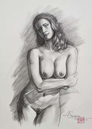 Drawing- Female nude#20727