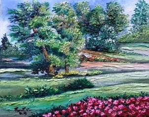 paisaje alegre