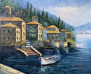 Casas en el lago