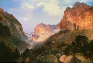montañas thomas morans