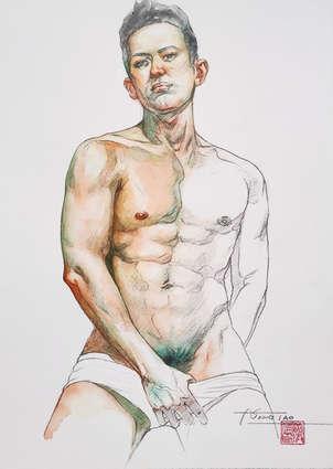 Watercolor-Model#201130