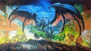 Illidan   (pintura de encargo)