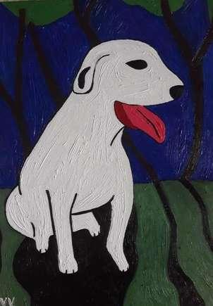 Rufo, el perro de Teresa