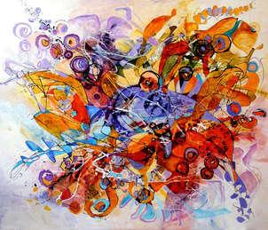 abstract inger dansand bolero