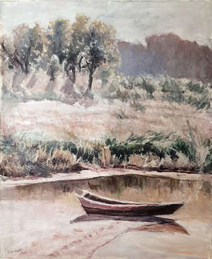 Paisaje y barca