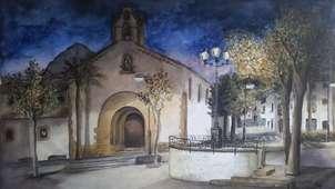 nit en la placeta del convent, xàbia