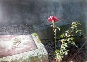 Flor en solitario