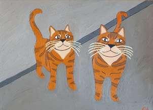 Los gatos de Elena