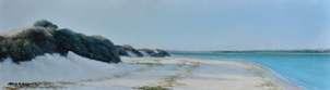 orilla de playa en sancti petri (chiclana)