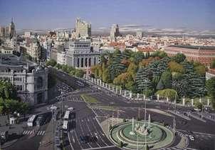 Madrid desde palacio de cibeles