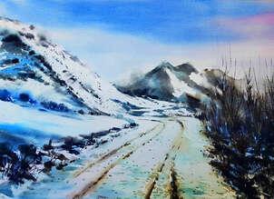 carretera nevada ASTURIAS