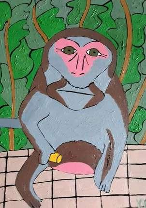 El mono de Bali