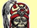 Retrato del dios Ai Apaec (el decapitador)