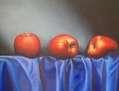 Tela con manzanas