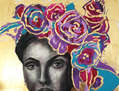 Mujer con flores 2