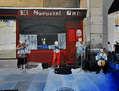 Músicos en la calle de Madrid