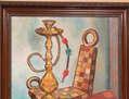LA SILLA Y EL NARGUILEH (Obra de estilo Fauvista)